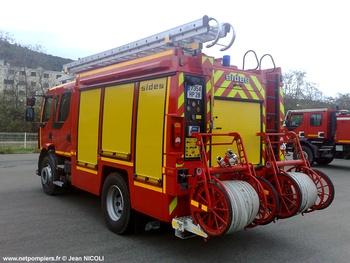 Fourgon-pompe tonne, Sapeurs-pompiers, Haute-Corse (2B)