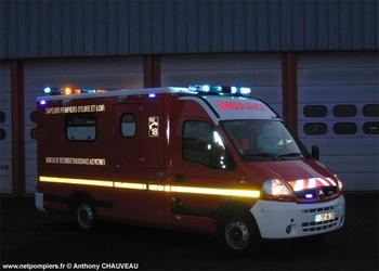 Véhicule de secours et d'assistance aux victimes, Sapeurs-pompiers, Eure-et-Loir (28)