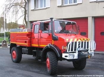 Camion-citerne pour feux de forêts, Sapeurs-pompiers, Manche (50)