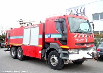 Véhicule mousse, Service de sécurité incendie, Bouches-du-Rhône (13)
