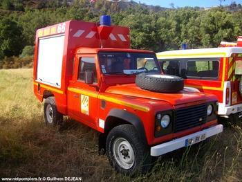 Véhicule de brûlages dirigés, Sapeurs-pompiers, Pyrénées-Orientales