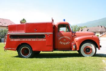 Camion-citerne d'incendie, Sapeurs-pompiers, Haute-Savoie (74)
