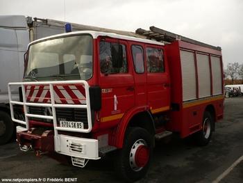 Fourgon-pompe tonne, Sapeurs-pompiers, Vendée