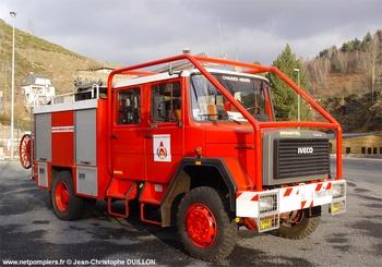 <h2>Fourgon-pompe tonne - Chaudes-Aigues - Cantal (15)</h2>