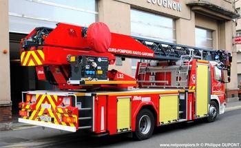 Echelle pivotante, Sapeurs-pompiers, Haute-Garonne (31)