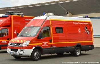 Véhicule de secours nautique, Sapeurs-pompiers, Indre
