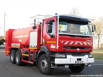<h2>Camion-citerne de grande capacité - Le Teich - Gironde (33)</h2>