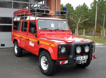 Véhicule de secours nautique, Sapeurs-pompiers, Gironde (33)