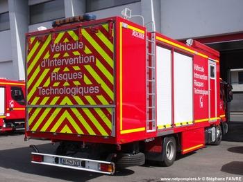 <h2>Véhicule pour interventions à risques technologiques - Poitiers - Vienne (86)</h2>