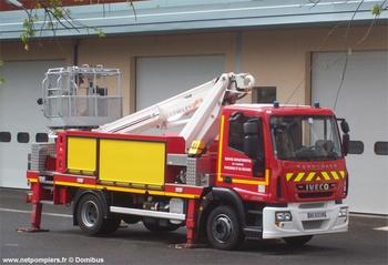 Camion bras élévateur articulé, Sapeurs-pompiers, Lot (46)