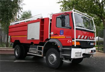 Camion-citerne pour feux de forêts, Sapeurs-pompiers, Loiret (45)