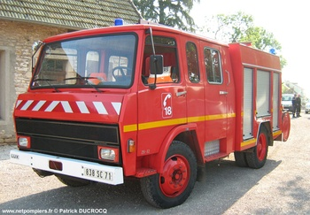 Fourgon-pompe tonne, Sapeurs-pompiers, Saône-et-Loire (71)