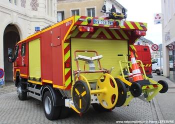 Camion-citerne rural léger, Sapeurs-pompiers, Sarthe (72)