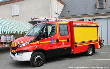 Véhicule de première intervention, Sapeurs-pompiers, Loiret