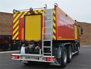 Camion-citerne de grande capacité, Sapeurs-pompiers, Eure