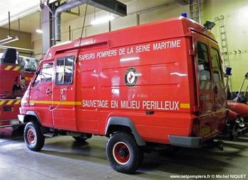 Véhicule pour interventions en milieu périlleux, Sapeurs-pompiers, Seine-Maritime (76)