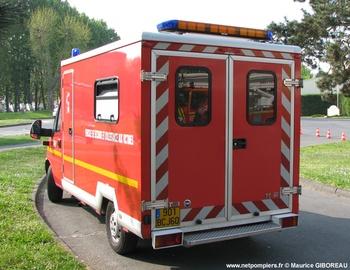 <h2>Véhicule de secours et d'assistance aux victimes - Compiègne - Oise (60)</h2>