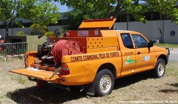 Camion-citerne pour feux de forêts léger, Défense des forêts contre les incendies, Bouches-du-Rhône