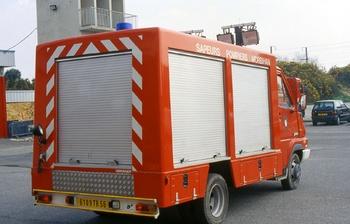 Fourgon électro-ventilateur, Sapeurs-pompiers, Morbihan (56)