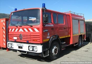 Fourgon-pompe tonne, Sapeurs-pompiers, Var