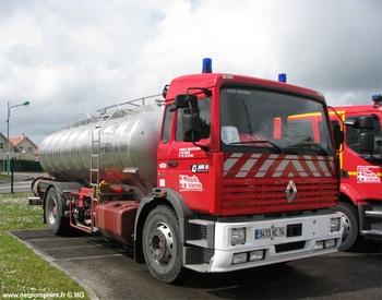 Camion-citerne de grande capacité, Sapeurs-pompiers, Haute-Savoie