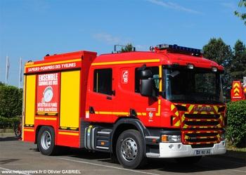 <h2>Fourgon-pompe tonne - Montigny-le-Bretonneux - Yvelines (78)</h2>