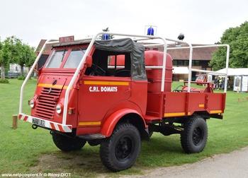 <h2>Camion-citerne pour feux de forêts léger - Domats - Yonne (89)</h2>