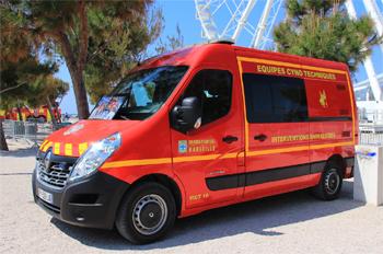 Véhicule pour interventions cynotechniques, Marins-pompiers de Marseille,  ()