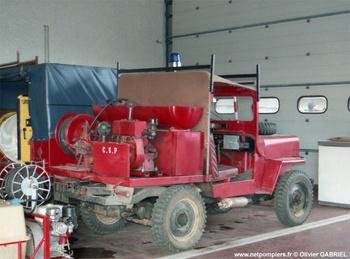 Camion-citerne pour feux de forêts léger, Sapeurs-pompiers, Ardèche (07)