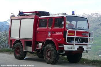 Fourgon-pompe tonne léger, Sapeurs-pompiers, Savoie (73)