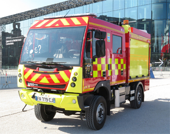 Véhicule de première intervention, Marins-pompiers de Marseille,  ()