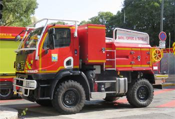 Camion-citerne pour feux de forêts, Marins-pompiers de Marseille, Bouches-du-Rhône