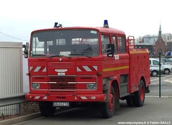 Fourgon-pompe tonne, Service de sécurité incendie, Nord (59)