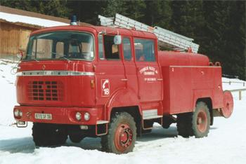 <h2>Fourgon-pompe tonne - Chamrousse - Isère (38)</h2>