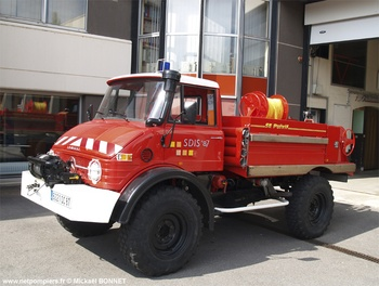 <h2>Camion-citerne pour feux de forêts - Limoges - Haute-Vienne (87)</h2>