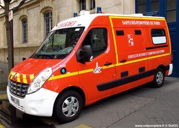 Véhicule de secours et d'assistance aux victimes, Sapeurs-pompiers,  ()