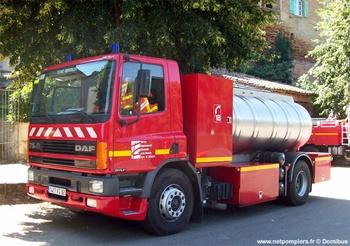Camion-citerne de grande capacité, Sapeurs-pompiers, Tarn-et-Garonne (82)