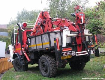 Véhicule de sauvetage déblaiement, Sapeurs-pompiers, Yvelines (78)