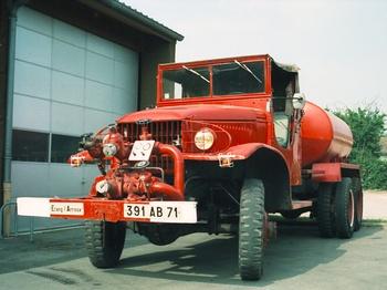 <h2>Camion-citerne pour feux de forêts - Etang-sur-Arroux - Saône-et-Loire (71)</h2>