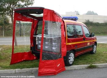 Véhicule de liaison, Sapeurs-pompiers, Oise (60)
