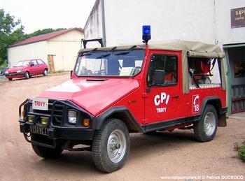 Véhicule de première intervention, Sapeurs-pompiers, Saône-et-Loire (71)