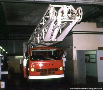 Camion bras élévateur articulé, Sapeurs-pompiers, Gironde (33)