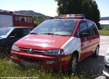 <h2>Véhicule radio médicalisé - Eloyes - Vosges (88)</h2>