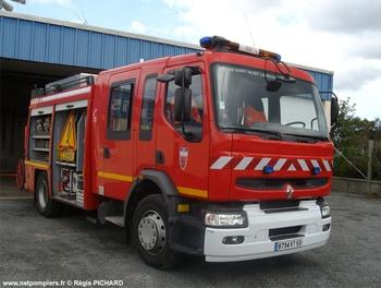 <h2>Fourgon-pompe tonne secours routier - Saint-Vaast-la-Hougue - Manche (50)</h2>