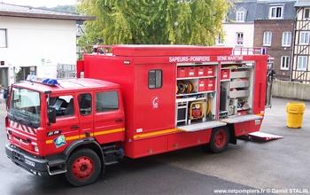 Véhicule pour interventions à risques technologiques, Sapeurs-pompiers, Seine-Maritime (76)