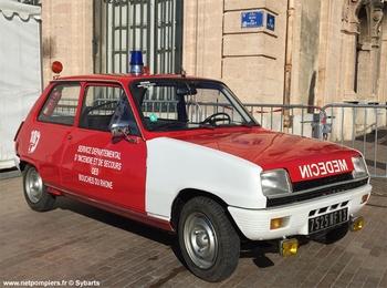 Véhicule radio médicalisé, Sapeurs-pompiers, Bouches-du-Rhône (13)