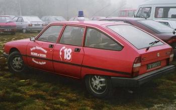 Véhicule de liaison, Sapeurs-pompiers, Charente-Maritime