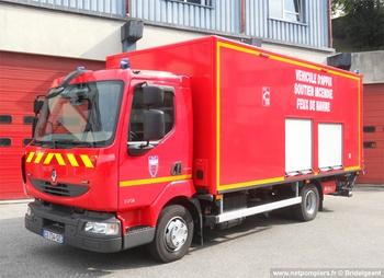 Véhicule pour feux de navires, Sapeurs-pompiers, Manche (50)