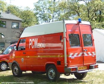 Véhicule poste de commandement, Sapeurs-pompiers, Essonne (91)