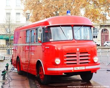 Fourgon-pompe dévidoir de grande puissance, Sapeurs-pompiers, Moselle (57)